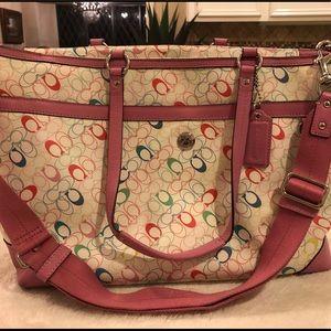 Coach diaper bag or laptop bag
